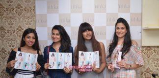 Mandana Karimi  and Zareen Khan at Ritika Bharwani's preview event