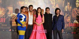 Aishwarya Rai and Randeep Hooda unveil Sarabjit trailer – Photos