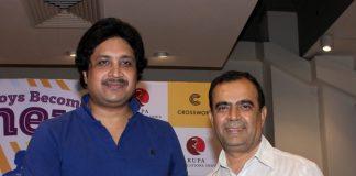 Sharman Joshi launches Mukul Kumar's  book As Boys Become Men