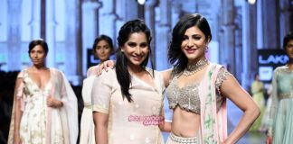 Lakme Fashion Week Summer Resort 2016 Photos – Shruti Haasan walks for Anushree Reddy