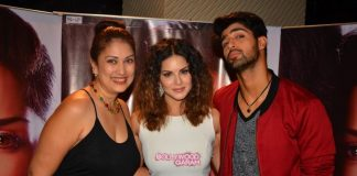 Sunny Leone promotes One Night Stand with Tanuj Virwani