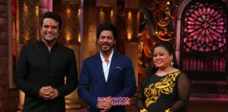 Shahrukh Khan promotes Fan on sets of Comedy Nights Bachao