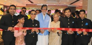 Amitabh Bachchan and Jaya Bachchan launch Kalyan Jewellers new stores – Photos