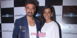 Mugdha Godse and Rahul Dev at Affinity Salon launch event