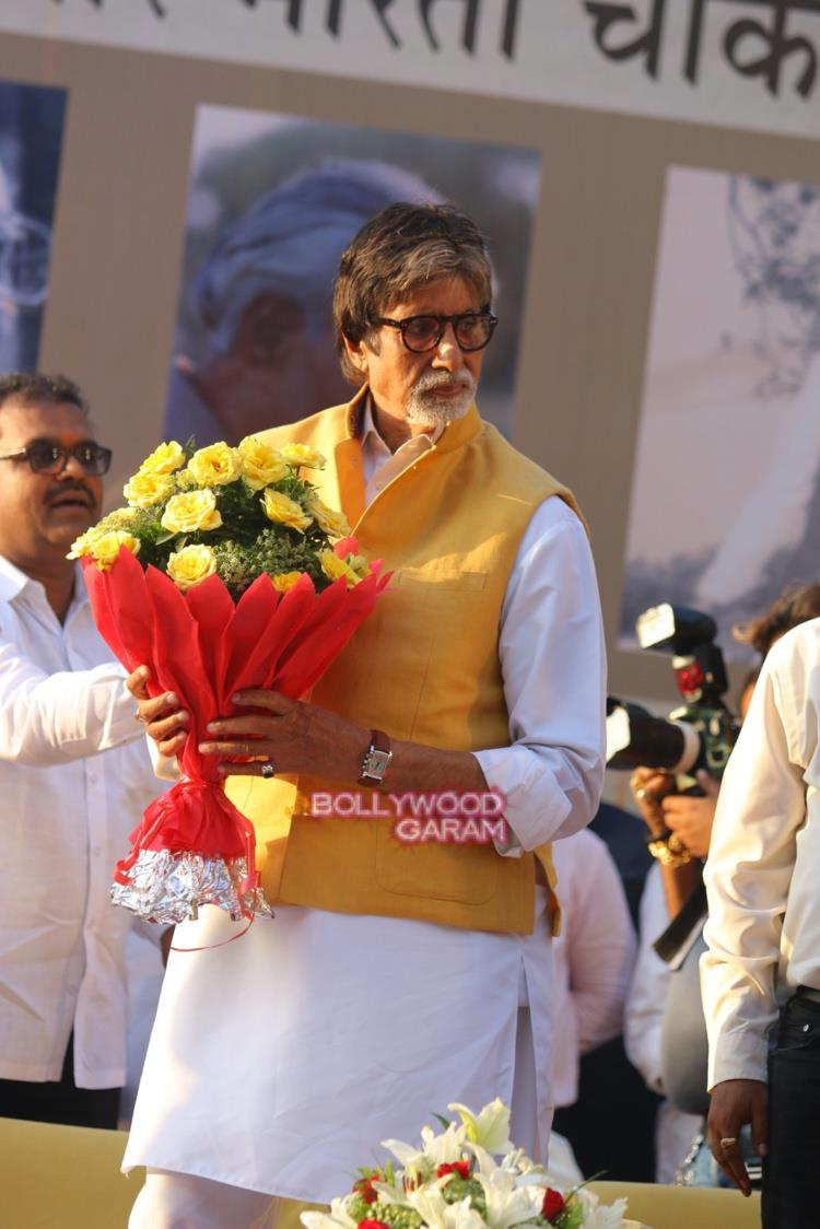 Amitabh Bachchan inaiguration2