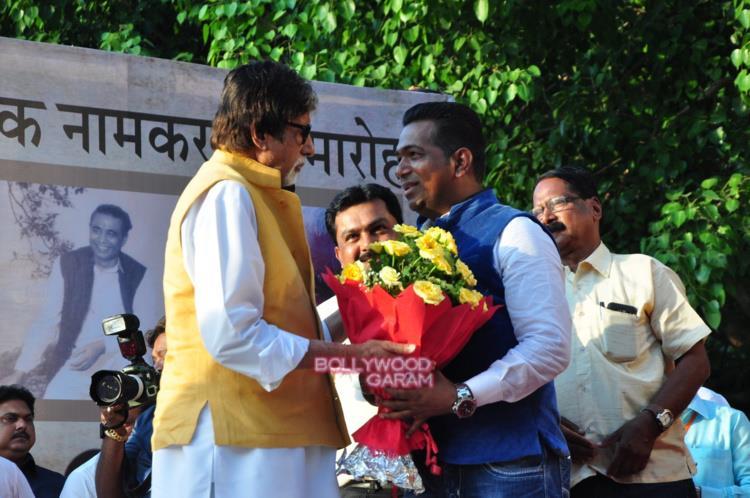 Amitabh Bachchan inaiguration4