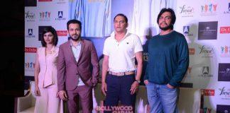Prachi Desai, Emraan Hashmi and Mohammed Azharuddin promote Azhar