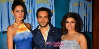 Nargis Fakhri and Prachi Desai promote Azhar at photo shoot