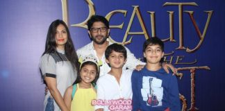 Arshad Warsi and Maria Goretti watch Beauty and the Beast