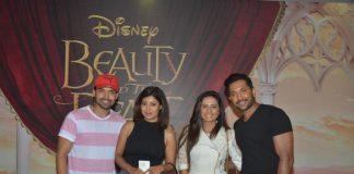 Varun Dhawan and Boman Irani watch Beauty and the Beast Musical