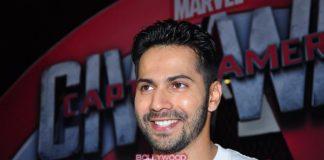 Varun Dhawan catches special screening of Captain America: Civil War