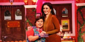 Juhi Chawla and Tabu have fun on sets of Comedy Nights Live