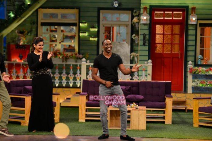 Dwayne kapil show1