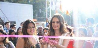 Evelyn Sharma graces new Salon launch in Mumbai