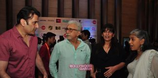 Maria Goretti and Arshad Warsi at Ghanta Awards ceremony