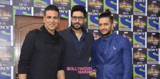 Akshay Kumar, Abhishek Bachchan and Riteish Deshmukh promote Housefull 3