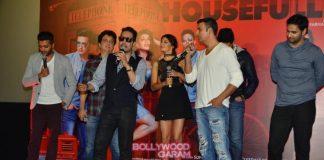 Akshay Kumar, Abhishek Bachhcan and Jacqueline Fernandez launch Housefull 3 song