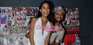 Lisa Haydon and Riteish Deshmukh promote Housefull 3