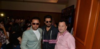 Anil Kapoor, Gulshan Grover and Vivek Oberoi at IIFA Voting