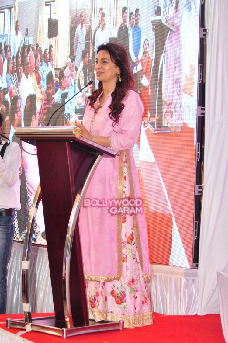Juhi Chawla inauguration2