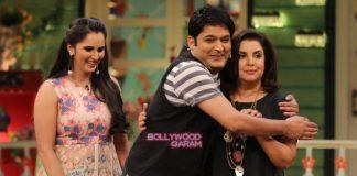 Sania Mirza and Farah Khan have fun on The Kapil Sharma Show