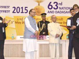 Amitabh Bachchan and  Kangana Ranaut receive National Awards