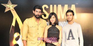 Shruti Haasan and Rana Daggubati announce 5th SIIMA awards in Singapore