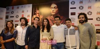 Aishwarya Rai, Randeep Hooda and Omung Kumar at Sarabjit press conference