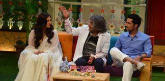 Randeep Hooda and Aishwarya Rai promote Sarabjit on The Kapil Sharma Show