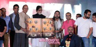 Amitabh Bachchan launched TE3N audio