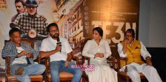 Vidya Balan and Amitabh Bachchan promote TE3N