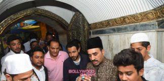 Emraan Hashmi and Mohammed Azharuddin visit Nizamuddin Dargah in  Delhi