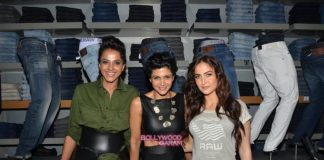 Randeep Hooda and Mandira Bedi at G-Star Raw store launch event – Photos