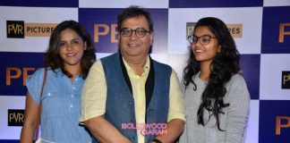 A.R.Rahman and Subhash Ghai at screening of Pele: The Birth of a Legend