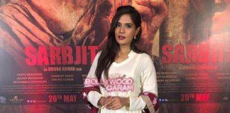 Richa Chadda promotes Sarabjit in style
