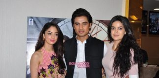 Sandeepa Dhar, Shiv Pandit and Natasa Stankovic promote upcoming thriller 7 Hours to Go