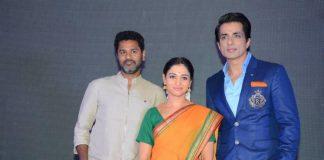 Prabhu Deva and Tamannaah Bhatia launch Abhinetri movie teaser