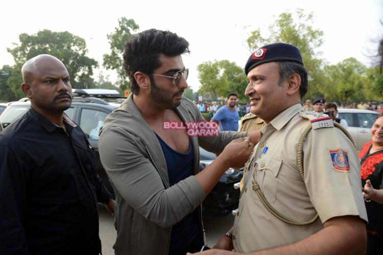 Arjun kapoor road safety3