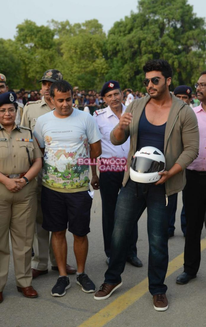 Arjun kapoor road safety6