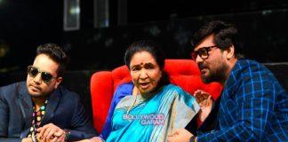Asha Bhonsle celebrates 76th birthday on sets of Sa Re Ga Ma Pa Lil Champs