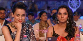 Kangana Ranaut and Sania Mirza stun at CNN News 18 Indian of the Year Awards