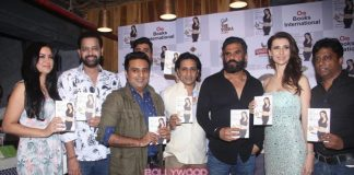 Suniel Shetty launches Claudia Ciesla's book