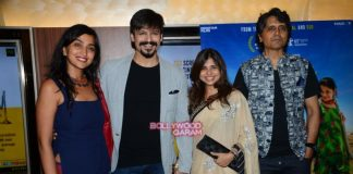 Vivek Oberoi, Dia Mirza and Shriya Saran at Dhanak special screening