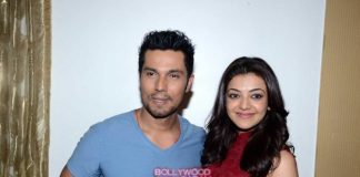 Randeep Hooda and Kajal Agarwal promote Do Lafzon Ki Kahani in Delhi