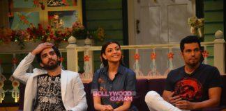 Randeep Hooda and Kajal Agarwal promote Do Lafzon Ki Kahani on The Kapil Sharma Show