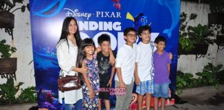 Maria Goretti and Ruhanika Dhawan Finding Dory screening