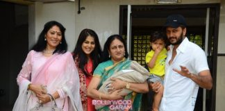 Riteish Deshmukh and Genelia D'Souza bring home their second bundle of joy