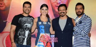Vivek oberoi, Riteish Deshmukh and Aftab Shivdasani launch trailer of Great Grand Masti – Photos