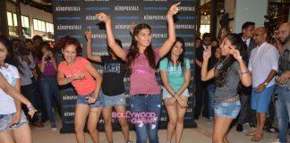 Jacqueline Fernandez launches Aeropostale stores in Mumbai
