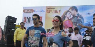 Pulkit Samrat and Yami Gautam promote Junooniyat in Delhi